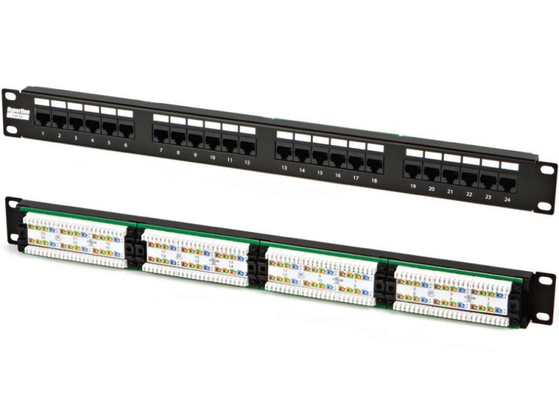 Hyperline PP2-19-24-8P8C-C5e-110D - купить в Санк
